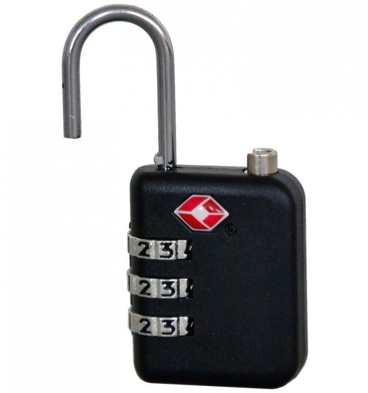 Bordlite WBAC04 bezpečnostní kódový TSA zámek na zavazadla, zelený