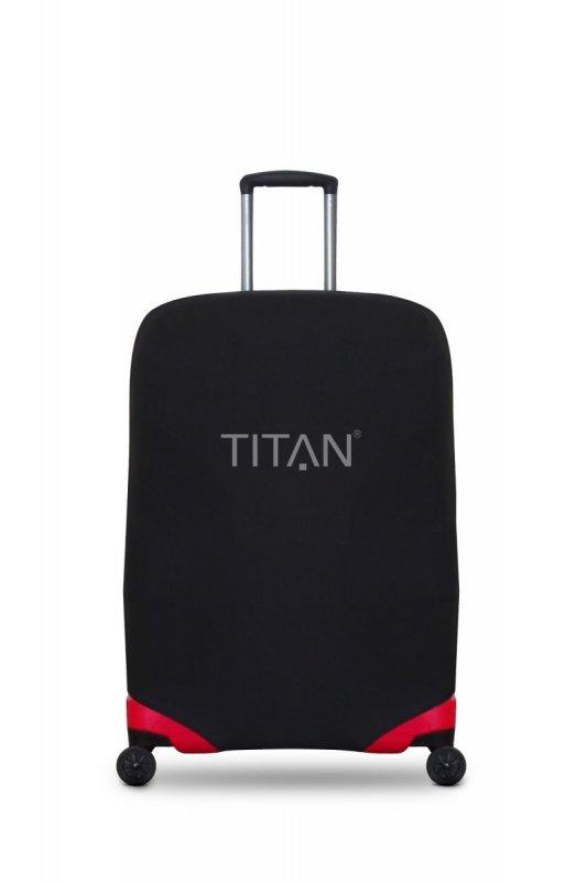 Levně Titan Luggage Cover L univerzální obal na cestovní kufry do 77x52x29 cm černý