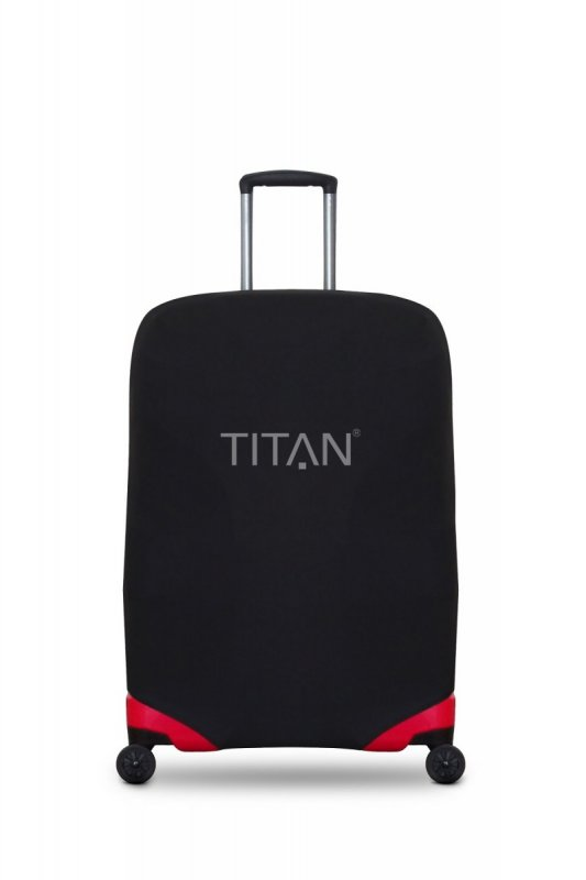 Titan Luggage Cover L Black