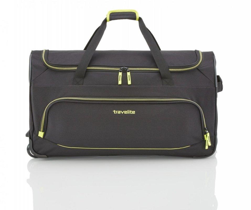 Travelite Basics Fresh 2w univerzální cestovní taška 89 l Black