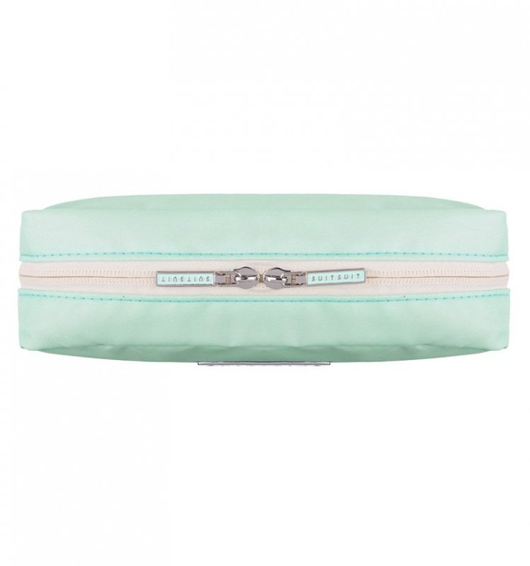 SUITSUIT Make-up Bag Luminous Mint cestovní organizér na kosmetiku 20x12x7 cm