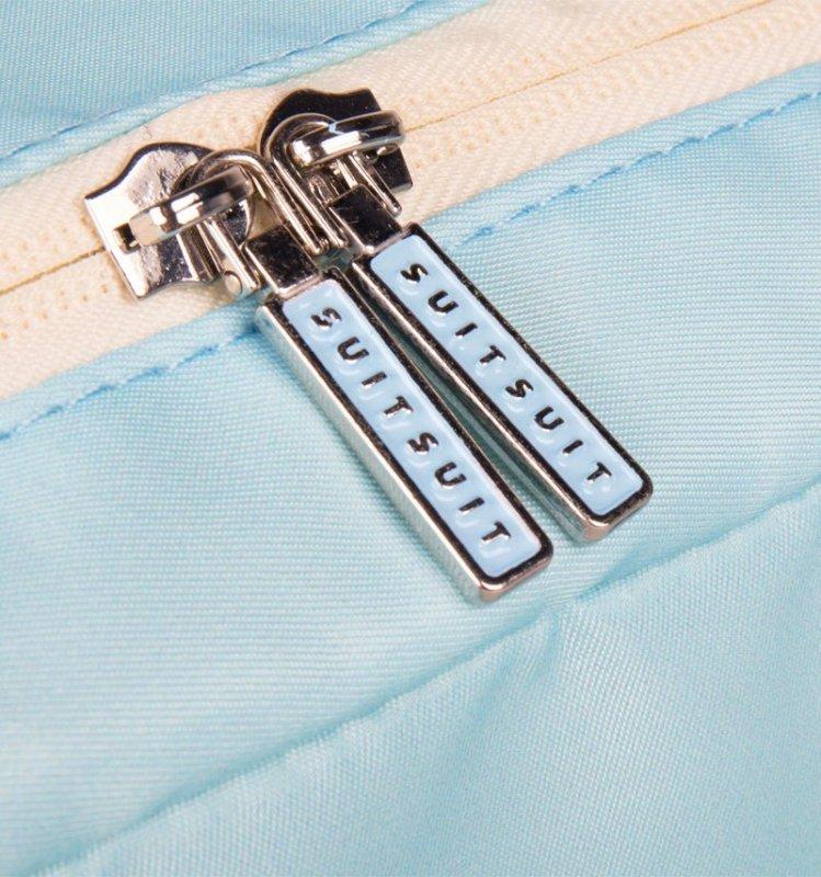 SUITSUIT Toiletry Bag Baby Blue cestovní toaletní / kosmetická taška 25x15x8 cm