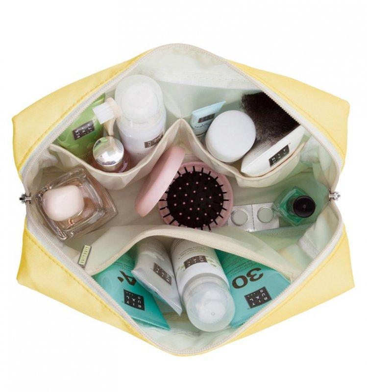 SUITSUIT Toiletry Bag Mango Cream cestovní toaletní / kosmetická taška 25x15x8 cm