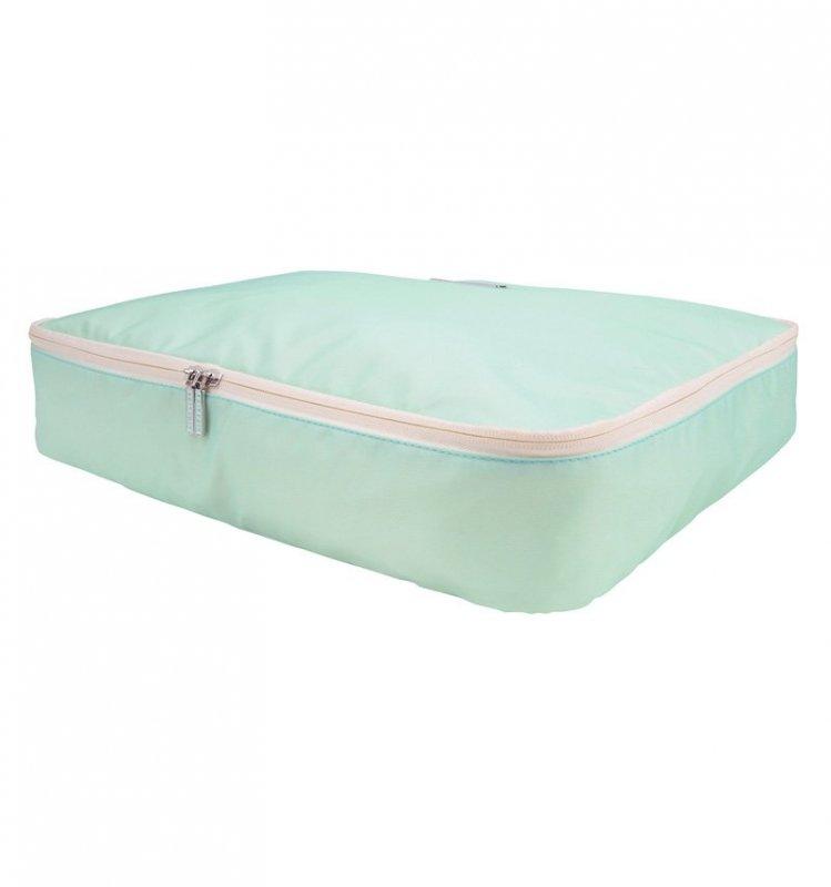 SUITSUIT Packing Cube XL Luminous Mint cestovní organizér na oblečení 46x30x8 cm