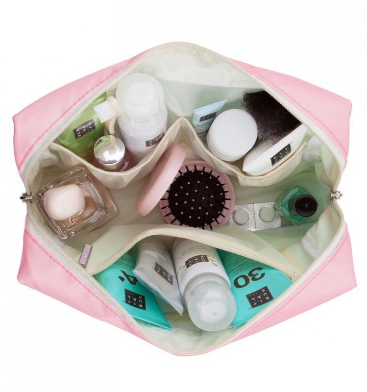 SUITSUIT Toiletry Bag Deluxe Pink Dust cestovní toaletní / kosmetická taška 25x15x8 cm