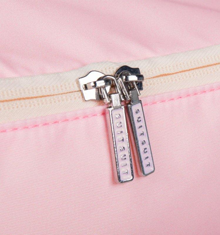SUITSUIT Packing Cube L Pink Dust cestovní organizér na oblečení 40x33x8 cm