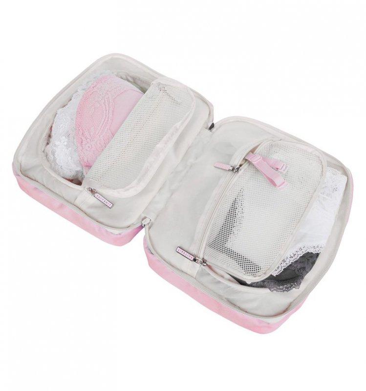 SUITSUIT Lingerie Organiser Pink Dust cestovní obal na spodní prádlo 23x18x8 cm
