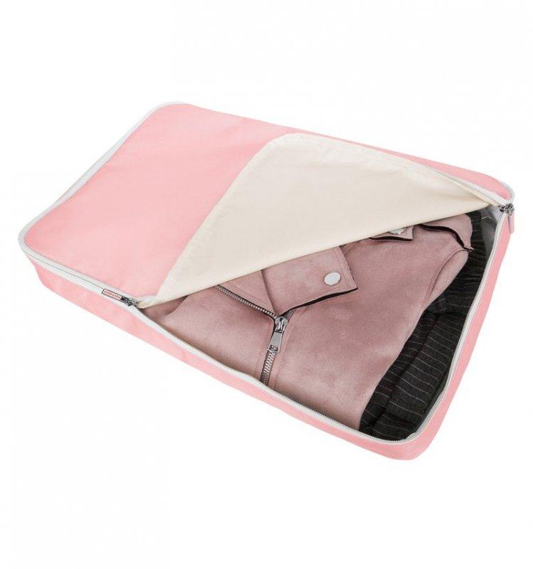SUITSUIT Packing Cube XL Pink Dust cestovní organizér na oblečení 46x30x8 cm