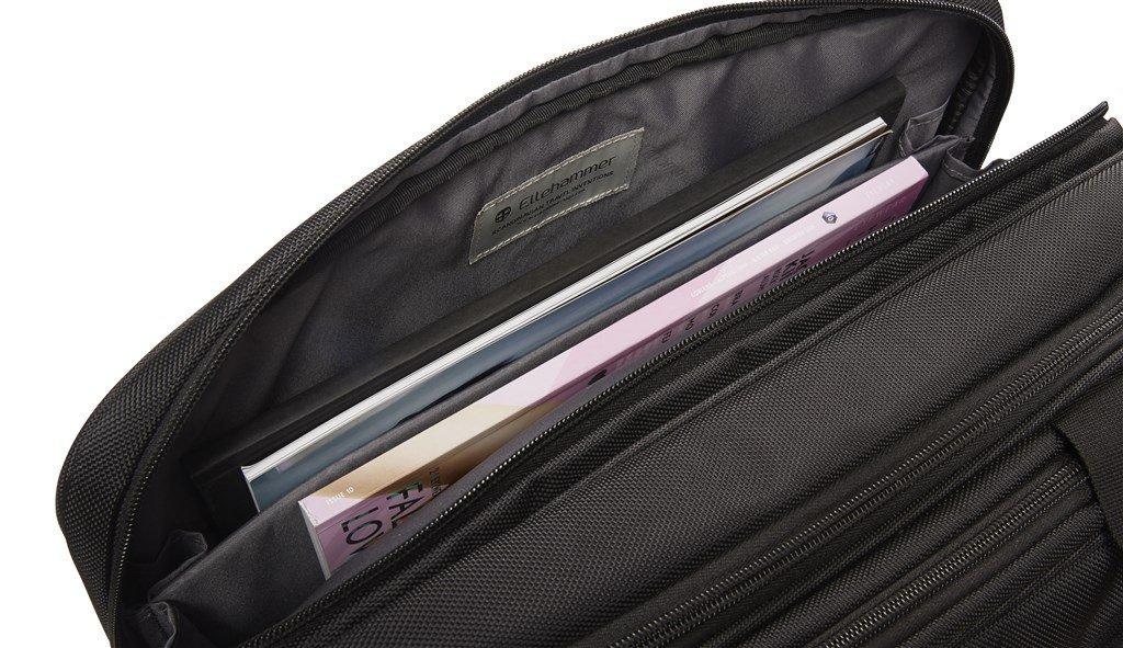 "Ellehammer 50010 Copenhagen DeLuxe brašna na notebook 15,6"" černá"