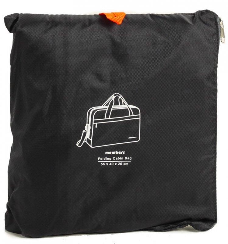 Member's SB-0045 palubní taška skládací 55x40x20 cm černá