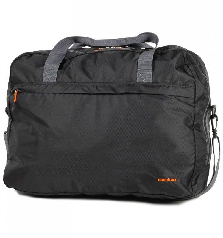Levně Member's SB-0045 palubní taška skládací 55x40x20 cm černá