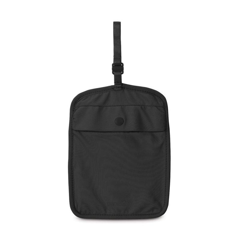 Pacsafe Coversafe S60 Black dámská skrytá bezpečnostní kapsa pod spodní prádlo černá