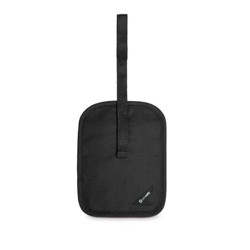 Pacsafe Coversafe V60 RFIDsafe skrytá bezpečnostní kapsa na opasek černá
