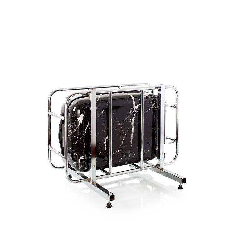 Heys Marquina S skořepinový palubní kufr TSA 53 cm 52 l černý mramor