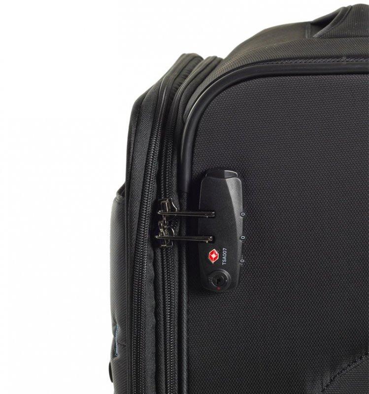 ROCK TR-0161 DeLuxe-Lite M ultraľahký cestovný kufor TSA 72 cm 76/84 l Bronze