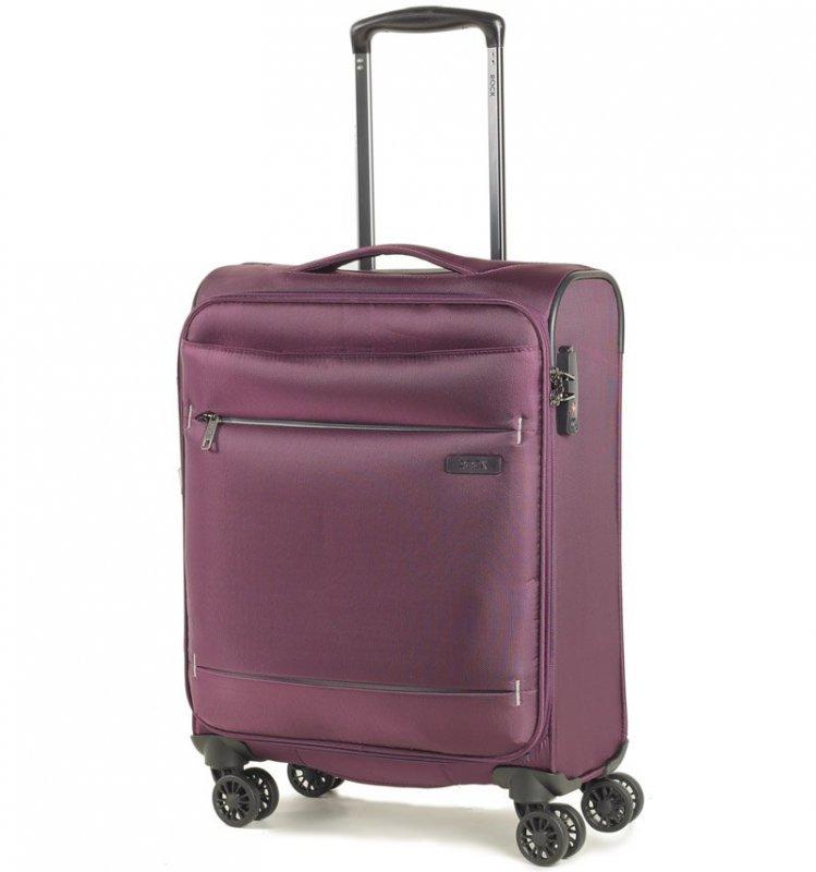 ROCK TR-0161 DeLuxe-Lite S ultraľahký palubný kufor TSA 55 cm Purple