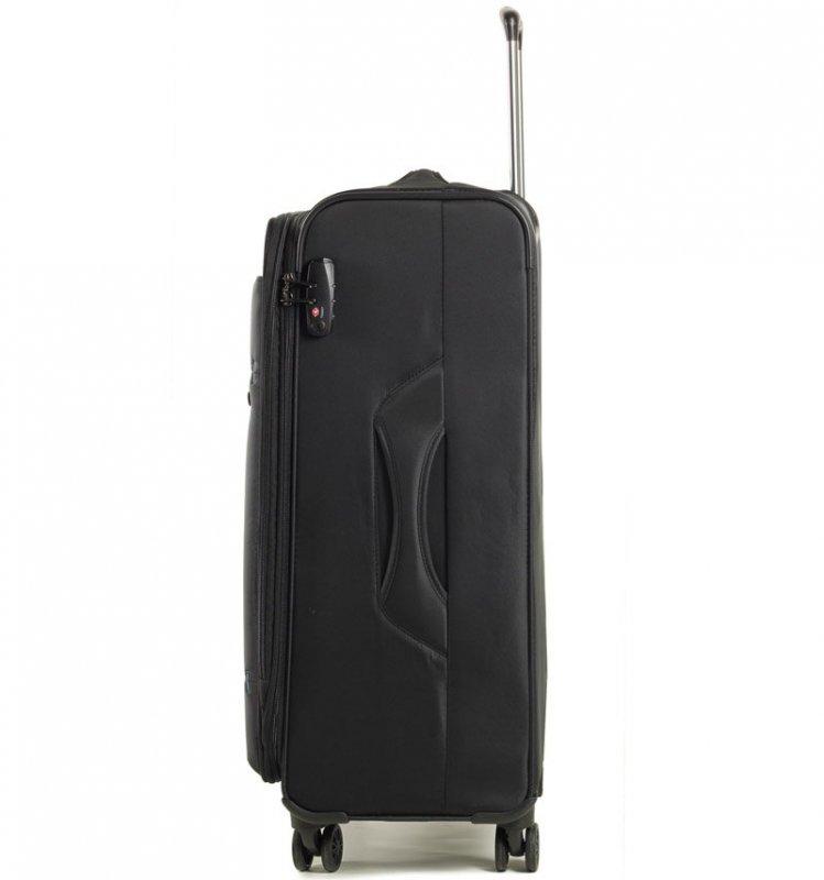 ROCK TR-0161 DeLuxe-Lite M ultraľahký cestovný kufor TSA 72 cm 76/84 l Navy