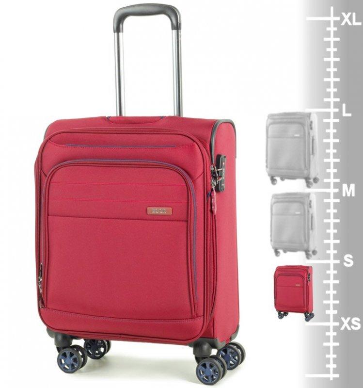 ROCK TR-0162 Apollo S palubný kufor do lietadla TSA 55 cm 41 l červený