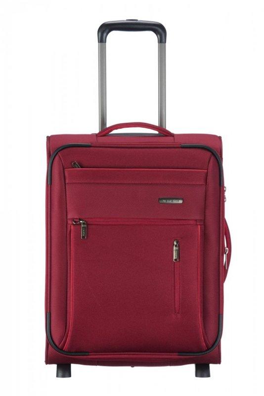 Travelite Capri 2w S palubní cestovní kufr TSA 53 cm 41/50 l Red