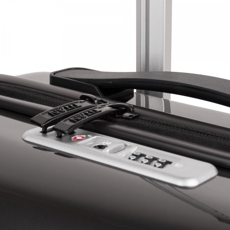 Titan Spotlight Flash 4w S palubní kufr TSA 55x40x20 cm Anthracite