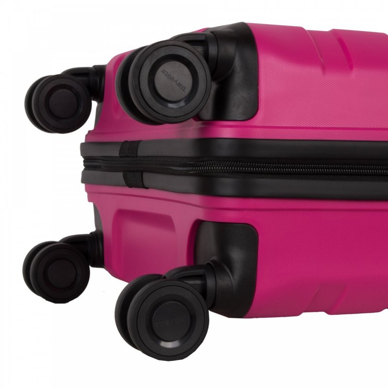 Travelite Kosmos 4w S palubní cestovní kufr TSA 55 cm 36 l Pink
