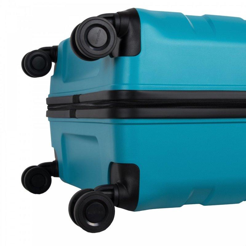 Travelite Kosmos 4w M cestovní kufr TSA 67 cm 72/80 l Aqua