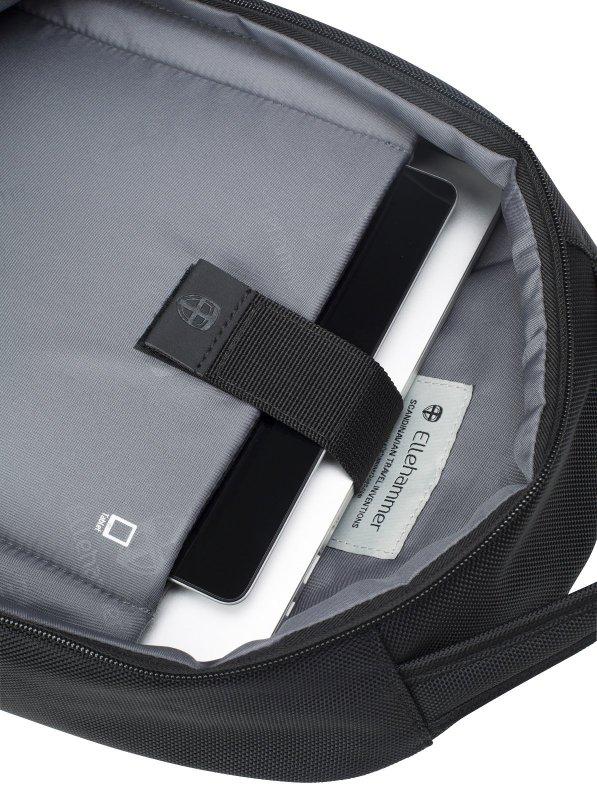 "Ellehammer Copenhagen batoh na 14"" notebook a tablet, černý 10,5 l"