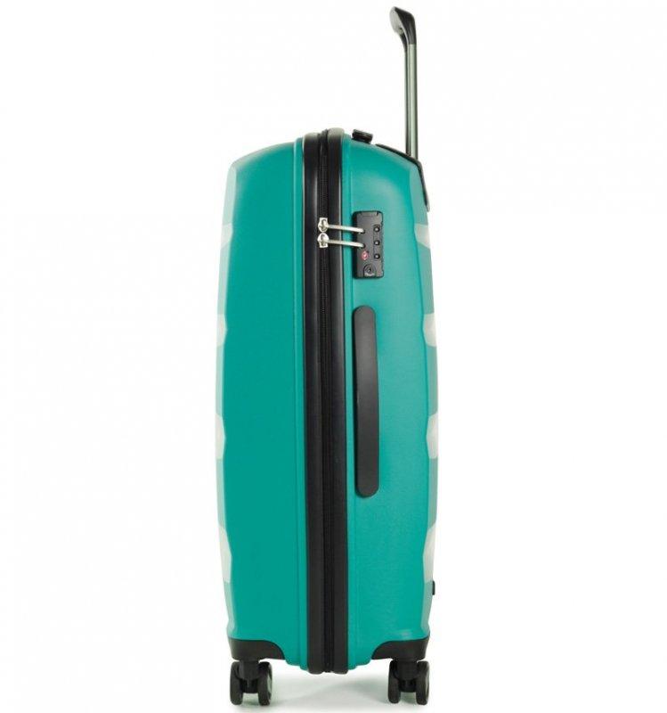 ROCK TR-0174 Torrance L cestovný kufor TSA 75 cm 98 l Blue