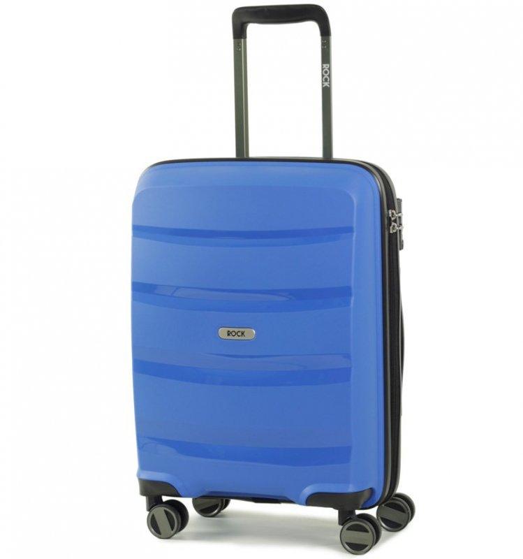 ROCK TR-0174 Torrance S palubný kufor do lietadla TSA 54 cm Blue