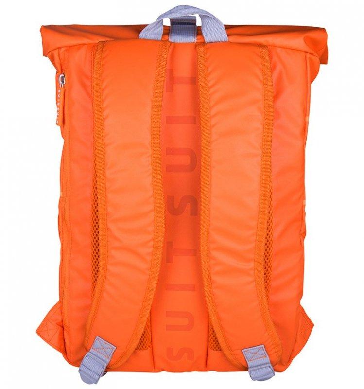 "SUITSUIT Caretta Backpack roll-top batoh na notebook 15"" Vibrant Orange 12 l"