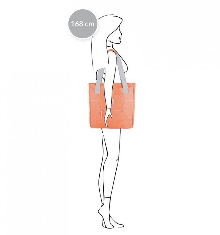 SUITSUIT Caretta Shopping Bag Melon univerzální dámská taška přes rameno 16 l