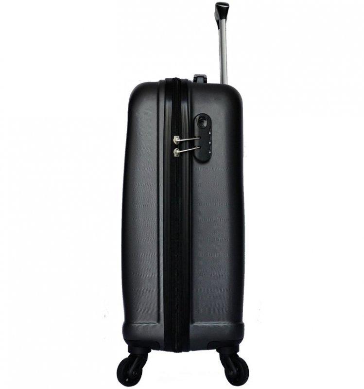 Azure Sirocco T-1213 S palubný kufor do lietadla TSA 55 cm Pink