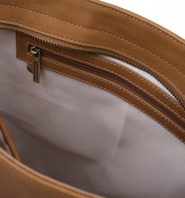 SUITSUIT Upright Bag Golden Brown stylová kabelka přes rameno 37x35x8 cm