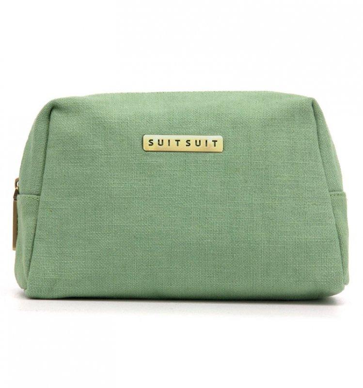 SUITSUIT Toiletry Bag Basil Green cestovní toaletní / kosmetická taška 25x15x8 cm