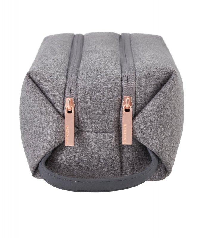 Titan Barbara Toilet Bag dámský cestovní necesér 27 cm šedý