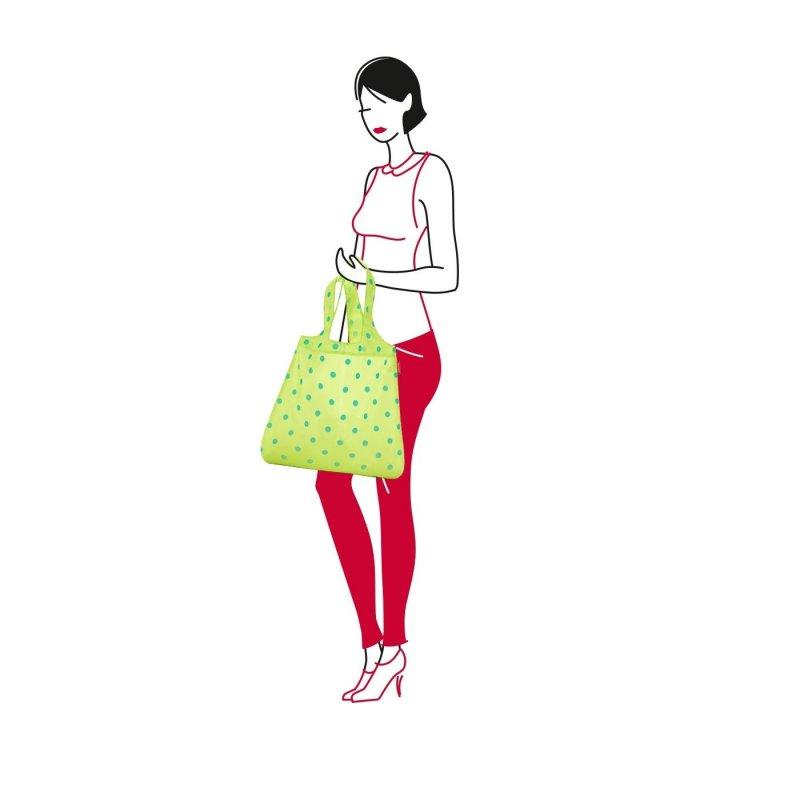 Reisenthel Mini Maxi Shopper skládací nákupní taška 15 l Lemon Dots