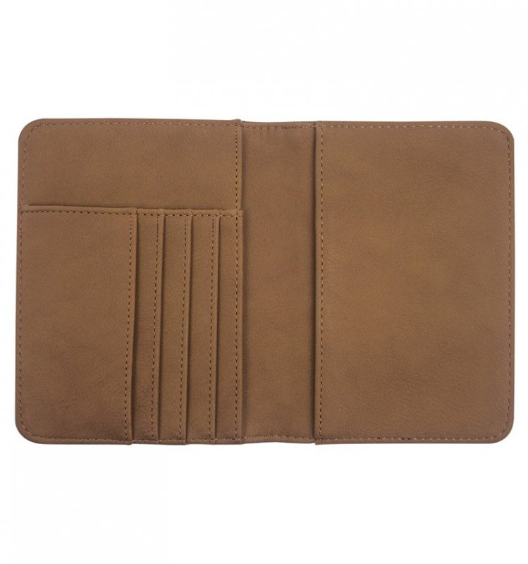 SUITSUIT Passport Cover Golden Brown obal na cestovní pas a bankovní karty