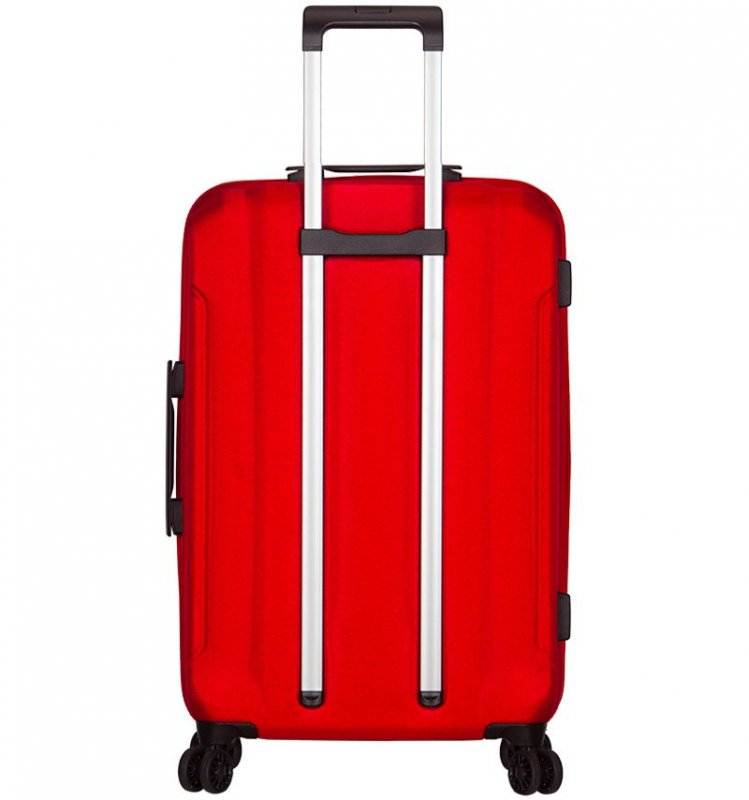 Azure Sirocco T-1177 L cestovný kufor TSA 81 cm 93 l Red