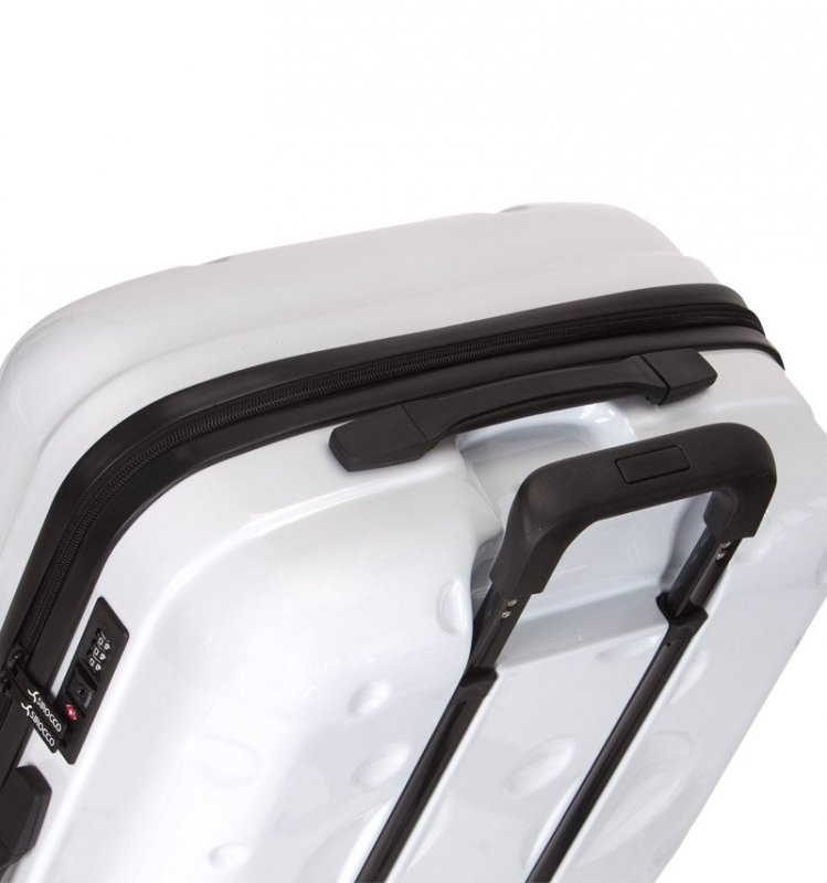 Azure Sirocco T-1194 L cestovný kufor TSA 77 cm 91 l White