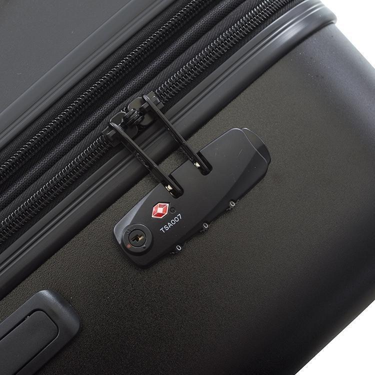 Heys Oasis L skořepinový cestovní kufr TSA 76 cm 132 l Black/Gold Leaf