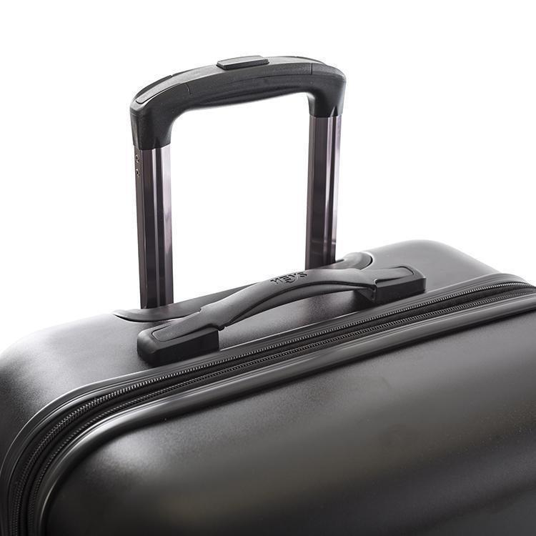Heys Oasis M skořepinový cestovní kufr TSA 66 cm 88 l Black/Gold Leaf