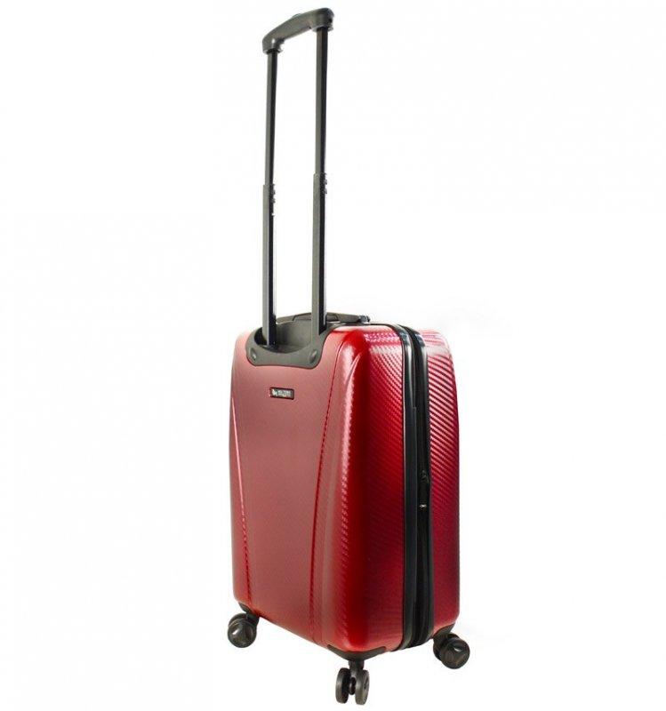 Mia Toro M1238 Usini L Navy cestovní kufr na 4 kolečkách TSA 77 cm 91-113 l