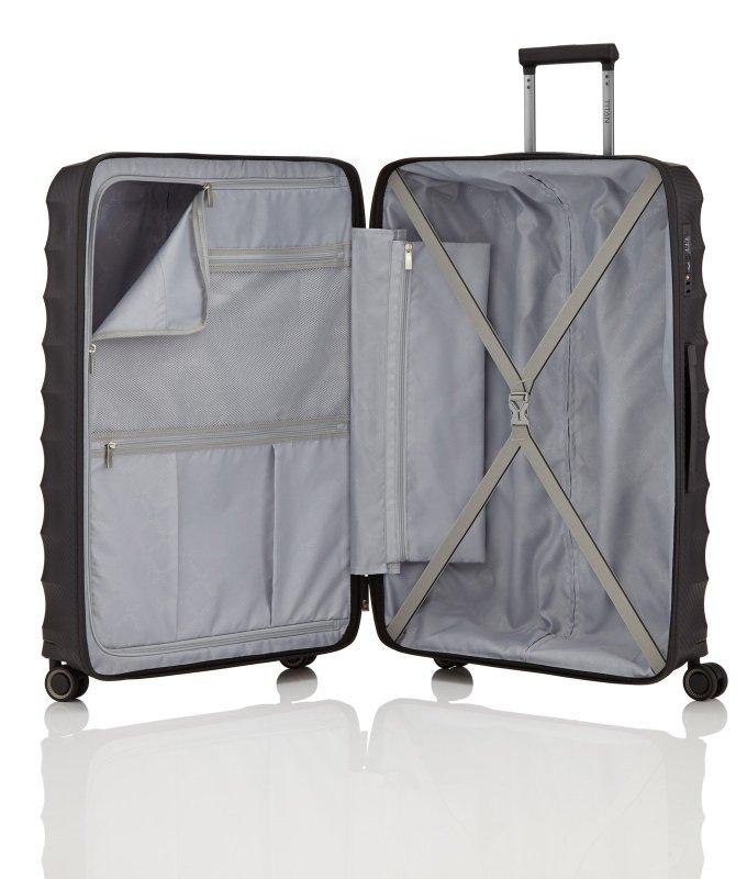 Titan Highlight 4w L cestovní kufr TSA 76 cm 112 l Black