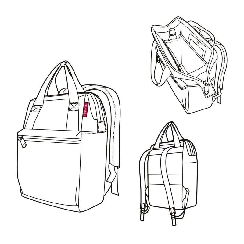 Reisenthel Allrounder R cestovní batoh/taška 12 l Millefleurs