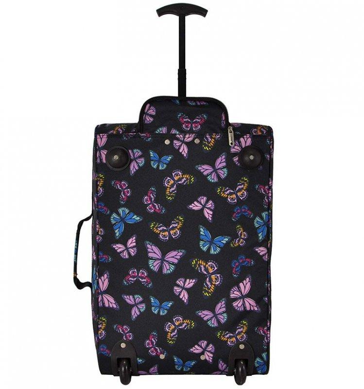 5 Cities T-830 S palubní kufr na 2 kolečkách 55 cm 1,65 kg Butterfly