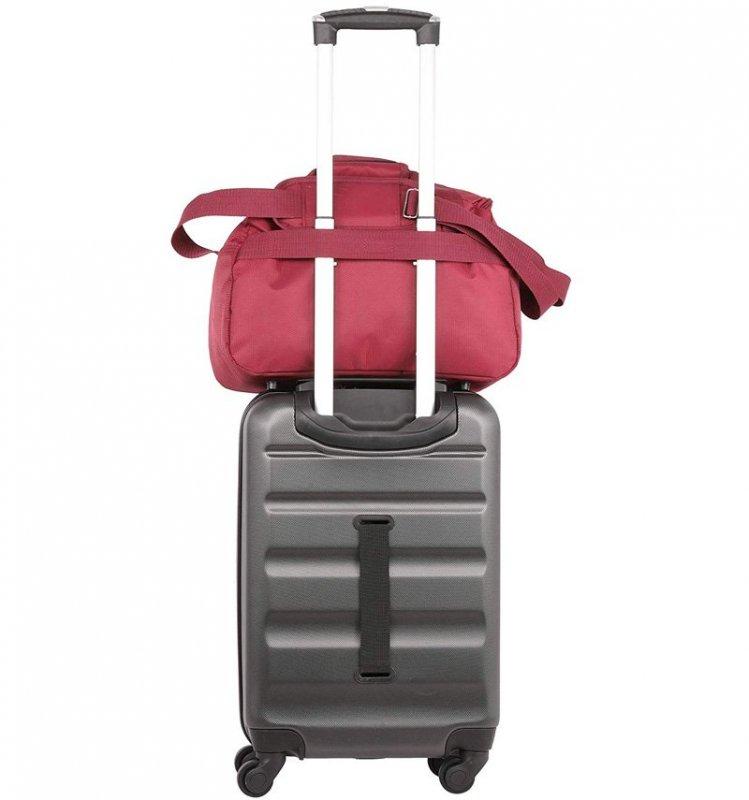 Aerolite 615 palubní cestovní taška Ryanair 40x20x25 cm vínová
