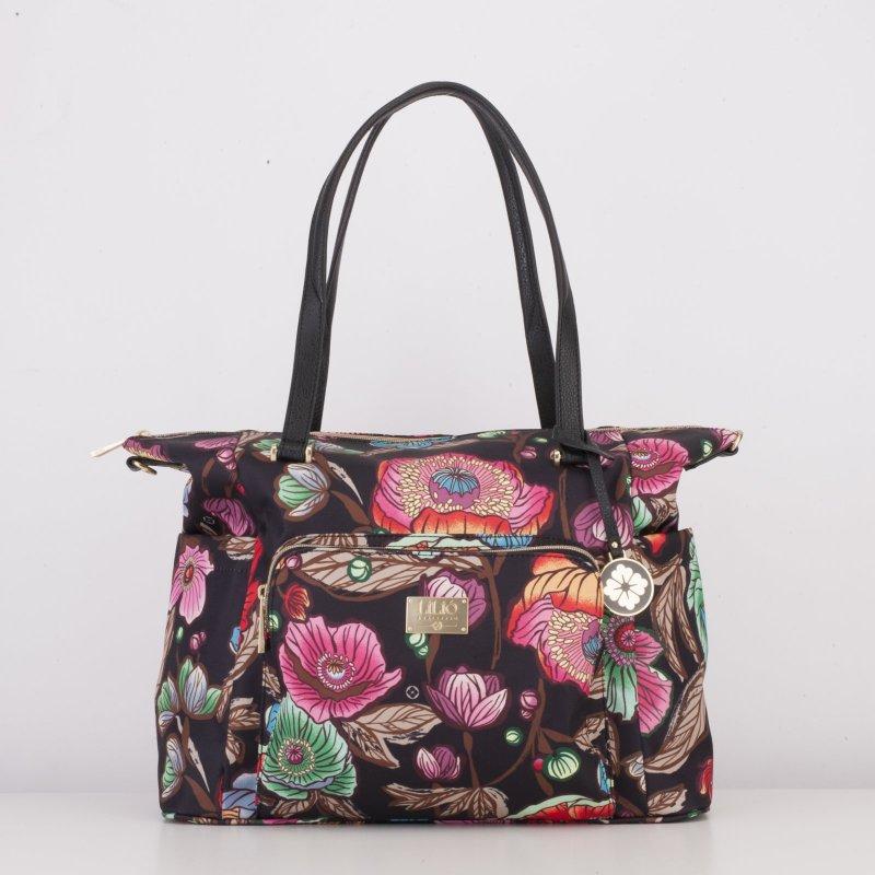 LiLiÓ Urban Peony Carry All kabelka na notebook 38x33x14 cm Sunburst Black