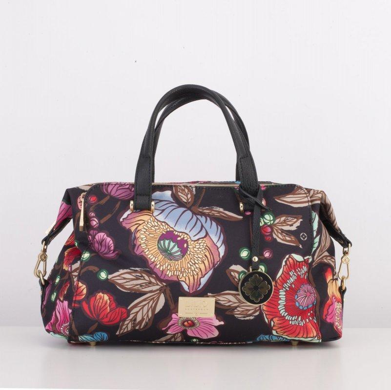 LiLiÓ Urban Peony Handbag středně velká kabelka 30x22x14 cm Sunburst Black