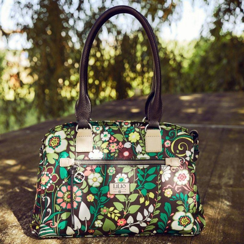 LiLiÓ Morris Garden M Carry All kabelka 36x25x14 cm Peacock Green