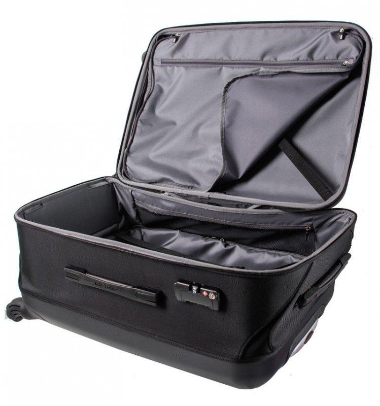 Mia Toro M1301/3-L Piega cestovní kufr TSA 79 cm 109-136 l Silver
